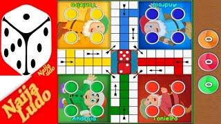Naija Ludo 2 Player Gameplay Match - Ludo Naija Ganeplay screenshot 4