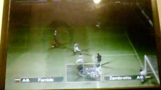20090927 Pro Evolution Soccer 5 Finale Championnat WEFA Ile De France Juventus 0 45