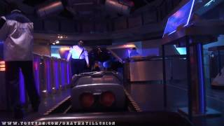 Space Mountain Nightvision On-ride (Complete HD Experience) Disneyland California