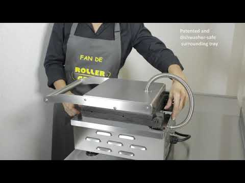 Cast-iron waffle maker - Cleaning - Roller Grill