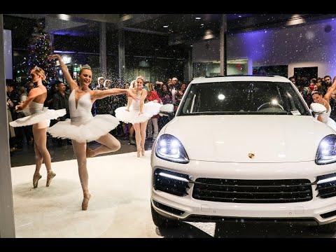 The new 2019 Porsche Cayenne! Beverly Hills Porsche's Holiday Launch Event
