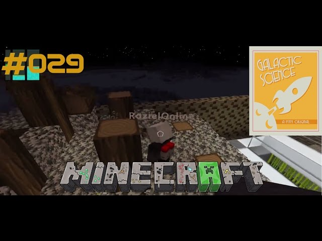 Let's Play Minecraft Galactic Science | Chef bei der Arbeit ?? | Folge #029