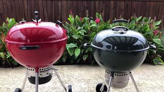 Red Weber Kettle limited edition review vs Weber Premium  Which is better