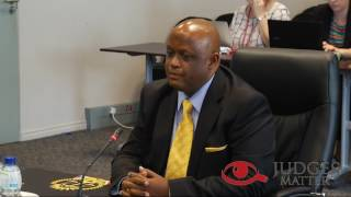 JSC interview of Judge R D Hendricks for the North West Judge President (Judges Matter)
