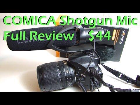 COMICA Shotgun Microphone Full Review CVM-V30