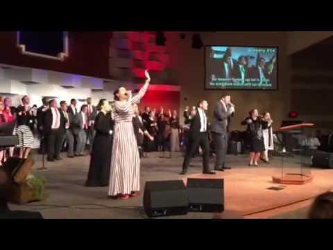 Louisiana Allstate choir Let the heavens open