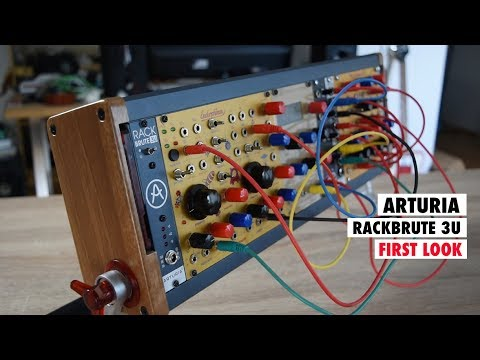 ARTURIA RackBrute First Look & Let's Build A Mini Eurorack SYNTHESIZER Mp3