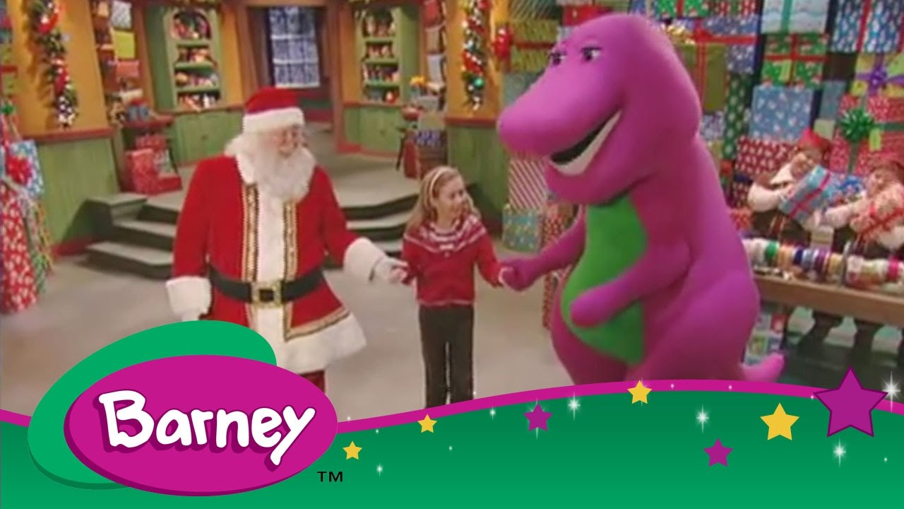 Barney - Merry Christmas Everyone - YouTube