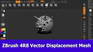 Vector Displacement Mesh: New Feature of ZBrush 4R8