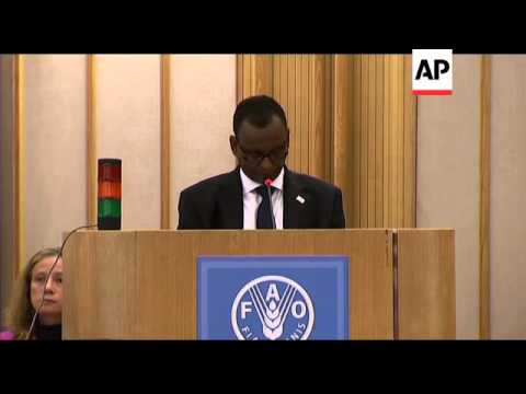 Somali delegates at FAO meeting urges rebels to open up borders for aid