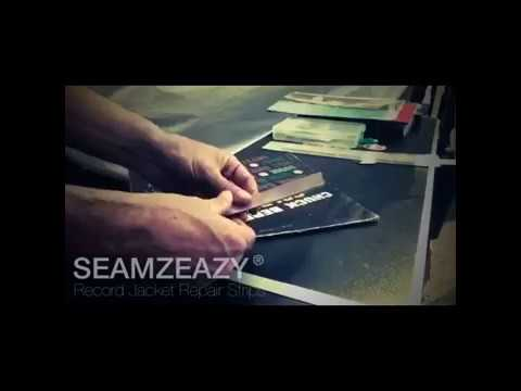 Seamzeazy Record Jacket Repair