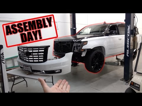THE SEMA TAHOE IS GETTING PUT BACK TOGETHER!