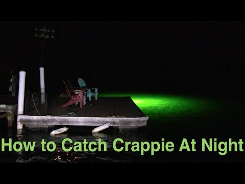 How To Catch Crappie At Night