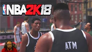 Nba 2k18 mycareer ep 2 - first game at the park!