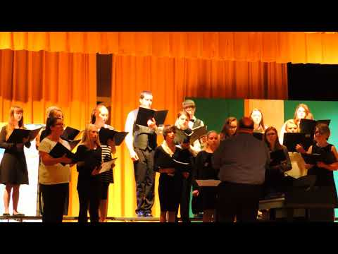 Bledsoe County High School Choir-Rejoice In the Lord
