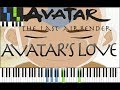 Avatar's Love : Piano (Synthesia)