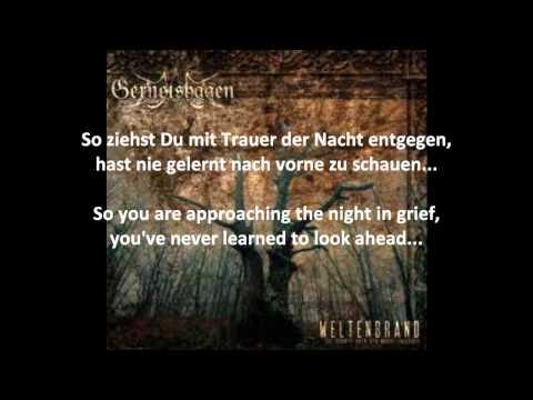 Gernotshagen - Einsam with English subtitles / translation / lyrics