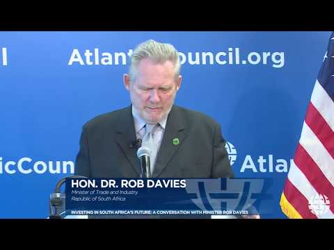 Investing in South Africa's Future: A Conversation with Minister Rob Davies