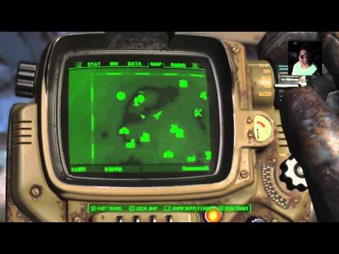 Fallout 4 - Day Tripper Flipper After Epic Crash...