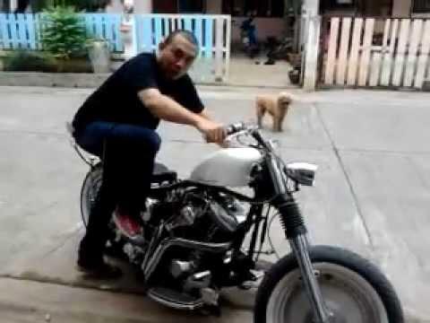 กระทืบ Harley Davidson..Kick Start -By ฺ HD Garden