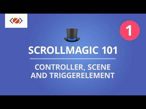 ScrollMagic 101 - Controller, Scene and triggerElement