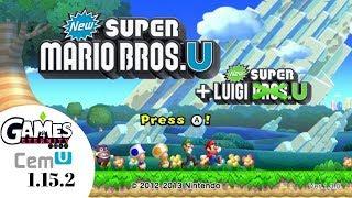 Cemu 1.15.2 New Super Mario Bros U 4k 60fps   New Super Luigi U   Crash Fix
