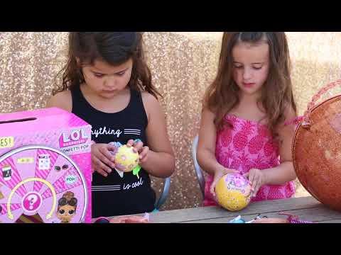 Hannah and Hadleigh's Fun Toy  3 LOLs