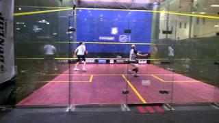 Squash SM 2015 quarterfinals - Tuominen / Knuutila