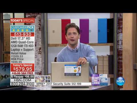 HSN   Electronic Connection featuring Dell 10.01.2016 - 09 AM