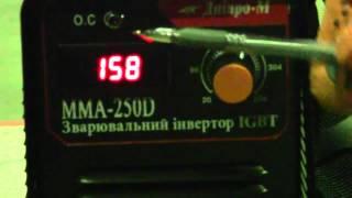 Тестирование сварки Днiпро М MMA 250Dи EOON MMA 250(Интернет-магазин