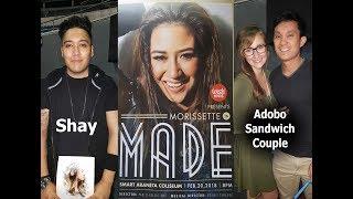 2 Sikat Na Youtube Reactors Shay at Adobo Sandwich Nanuod ng Concert ni Morissette