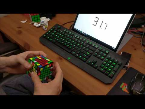 "6x6 Solved in 1:21.14 (PLL Parity) - ""Best"" Solve Ever"