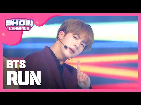 (ShowChampion EP.168) Bangtan Boys - Run (방탄소년단 - Run)
