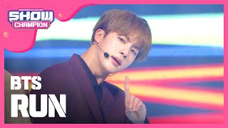 (ShowChampion EP.168) Bangtan Boys - Run (????? - Run) MP3