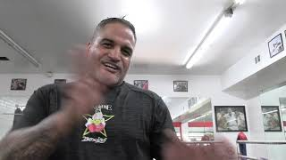 WOW Who Did Ricky Funez See At  RGBA ? EsNews Boxing