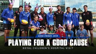 The Royal Children's Hospital visit (April 15, 2019)