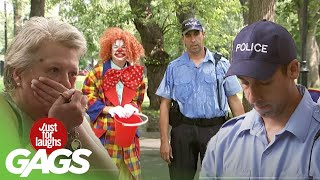 Best of Clown Pranks   Just For Laughs Compilation
