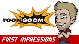 Jazza's TOON BOOM / HARMONY First Impressions Review