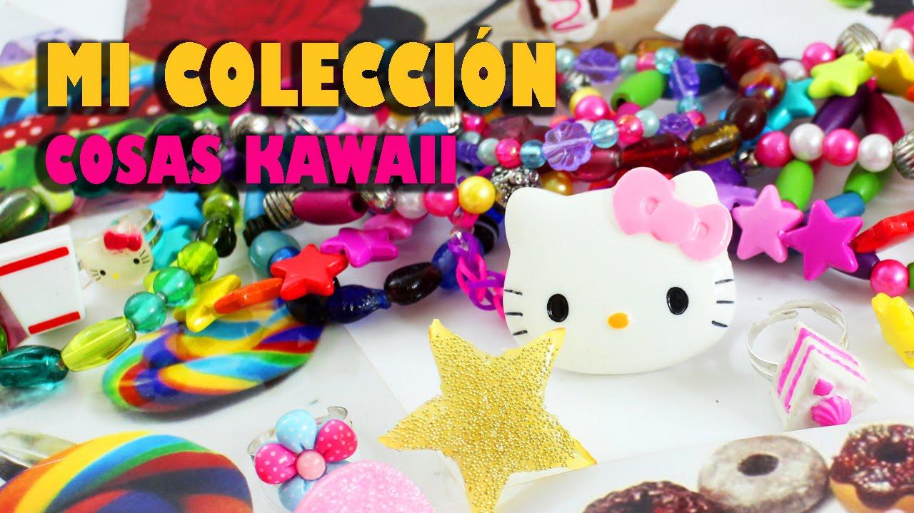 Mi Mini Colección de Accessorios y cosas Kawaii DIY echas ...