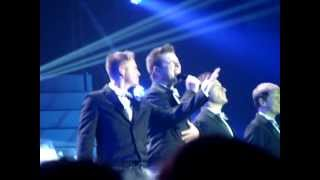 Westlife singing Flying Without Wings live in Belfast Odyssey Arena 29th May 2012 Farewell Tour