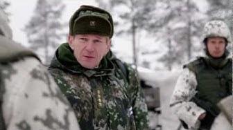 Puolustusvoimain komentajan tarkastuskäynti Länsi 2012 -harjoituksessa