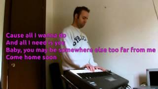 Alexander Jean - Roses & Violets KARAOKE PIANO REQUEST HD