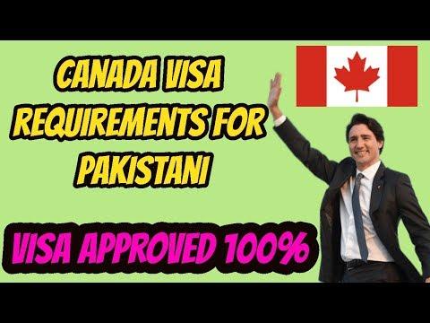 How To Get Canada Visit Visa || Canada Visa For Pakistan --  Canada Visa