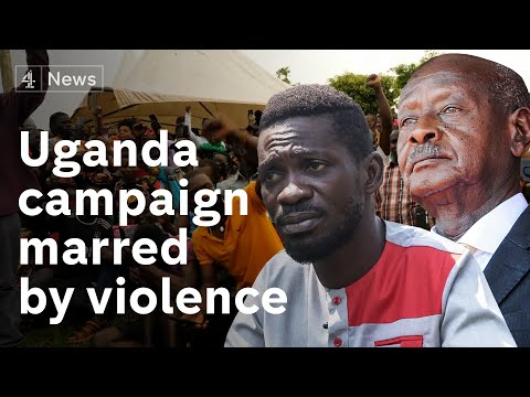 Uganda election: Voters prepare to go to polls after campaign marred by violence