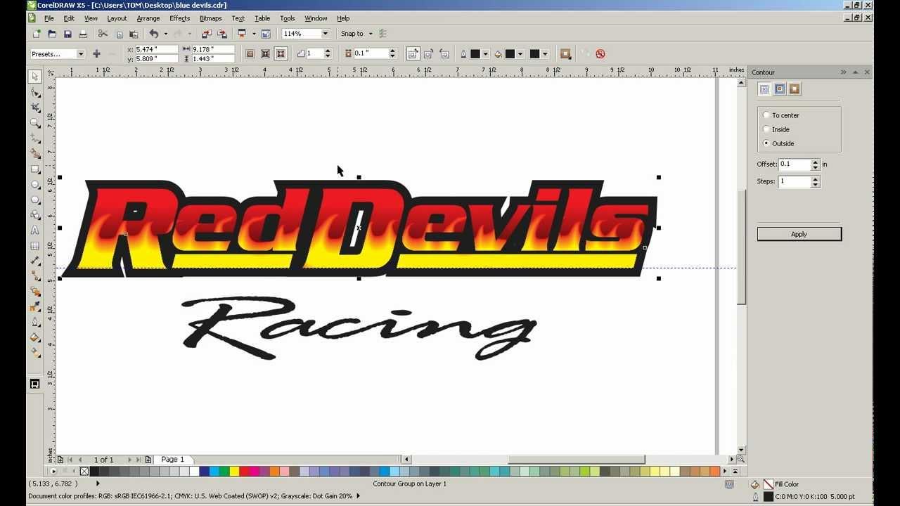 Fast Coreldraw Designs Using Powerclips