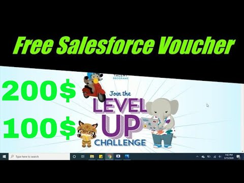 Free Voucher For Salesforce Certification 200$ & 100$