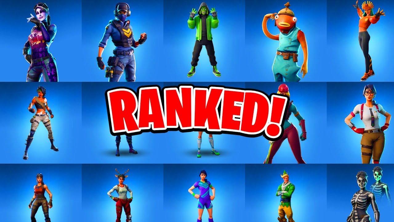 All 81 Rare Fortnite Skins Ranked Ranking All Fortnite Skins Youtube All outfit (930) back bling (645) pickaxe (514) emote (414) wrap (290) glider (276). all 81 rare fortnite skins ranked ranking all fortnite skins