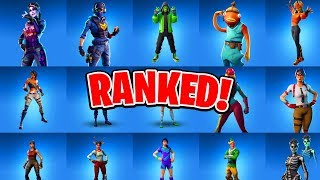 ALL 81 Rare Fortnite Skins Ranked! (Ranking ALL Fortnite Skins)