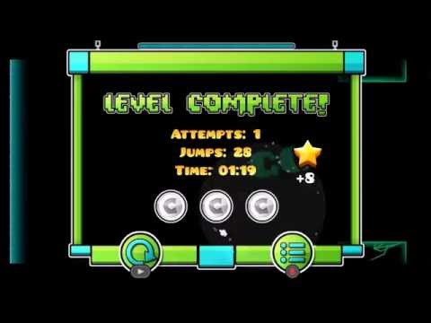 Geometry Dash | Unity 100% ALL COINS!! My Friends video :P