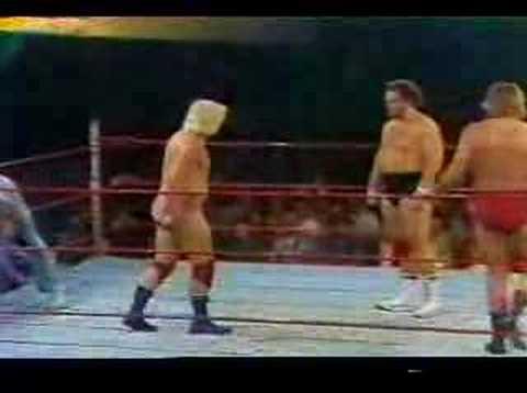 1977 Portland Wrestling - Lonnie Mayne Dutch Savage Buddy Rose